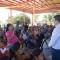 Reconocen estudiantes de la UPES y habitantes del Ej. Ohuira al Alcalde Álvaro Ruelas por los beneficios que les ha otorgado.