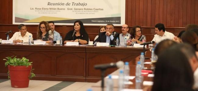 Exigen diputados mejorar condiciones de vida para desplazados