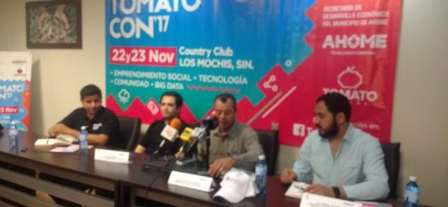 Invita al Tomato Con 2017 en Los Mochis: FND