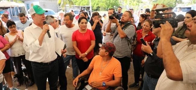 Quirino anuncia 20 mdp para Empleo Temporal en campos pesqueros.