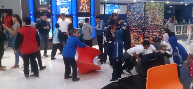Lleva CDI a los niños de los albergues y comedores indígenas a Cinepolis y al Museo Trapiche