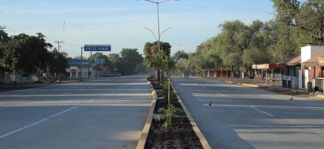 Abren a la circulación nuevo tramo de la carretera Mochis-Topolobampo de Blvd. Pedro Anaya a salón Figlos.