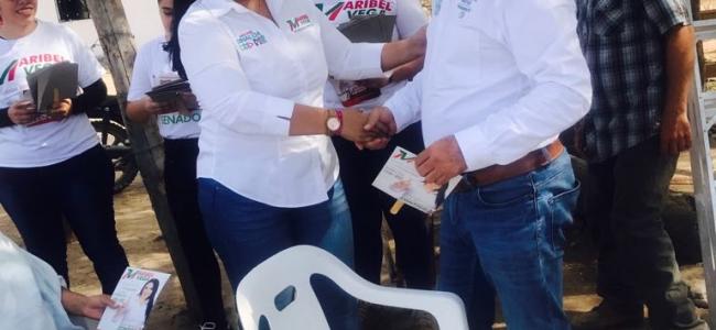 Reciben Con Beneplacito a Maribel Vega En Choix