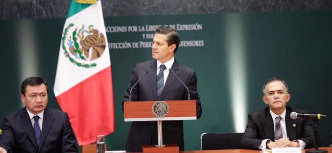 Sinaloa se suma a las acciones para proteger a periodistas, anunciadas por Presidencia de la República