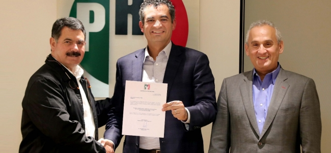 Nombra Enrique Ochoa a alfio vega y a Ricardo Barroso como delegados del CEN del PRI en sonora y Sinaloa