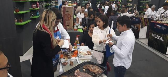 Con más de setenta citas de negocios concluye participación de Sinaloa en expo alimentaria 2018