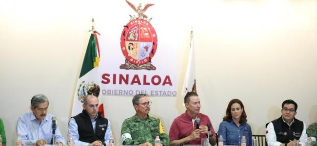 Sesiona el Comité Estatal de Protección Civil para valorar daños