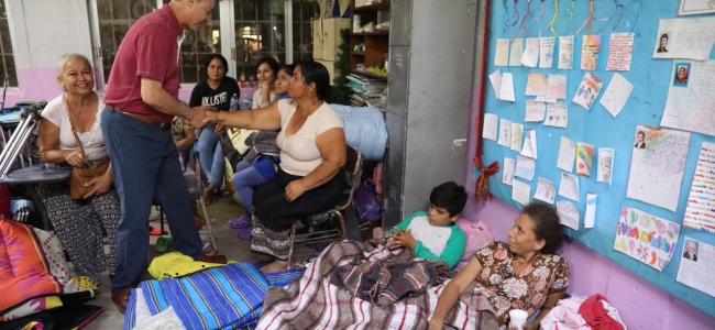 Visita Quirino albergue en Costa Rica