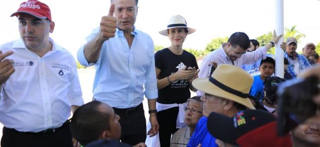 Recorre Quirino zona rural del norte para llevar apoyos