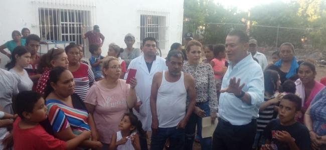 ACTIVA QUIRINO APOYO PARA FAMILIAS DEL MUNICIPIO DE EL FUERTE AFECTADAS POR LAS LLUVIAS