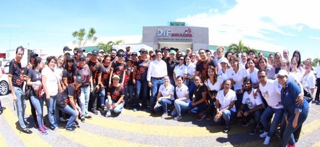 Arranca DIF Sinaloa Brigadas de Apoyos
