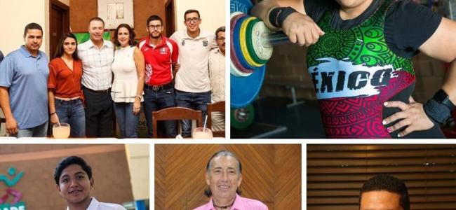 Tania Mascorro y Juan García, ganan Premio Estatal del Deporte