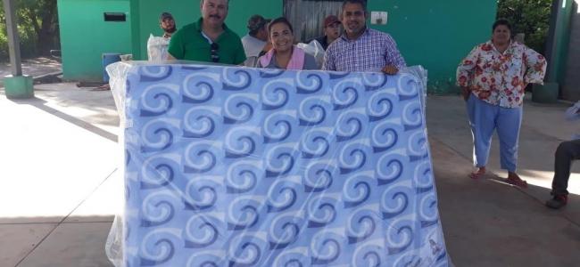 En Ahome unicamente se han distribuido colchones nuevos