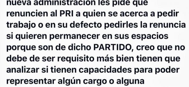 Causa Furor publicación de la ex Diputada Rivera de Bloch en famosa red social.