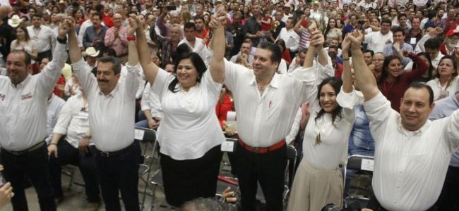 Convención de delegados del PRI ratifica a los candidatos para el proceso electoral federal