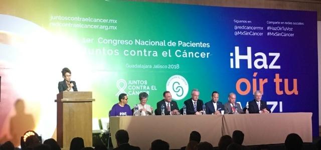 """Juntos contra el cáncer ¡Haz oír tu voz"""""""