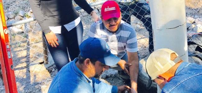 El miércoles normalizaran suministro de agua potable en Campo Esperanza