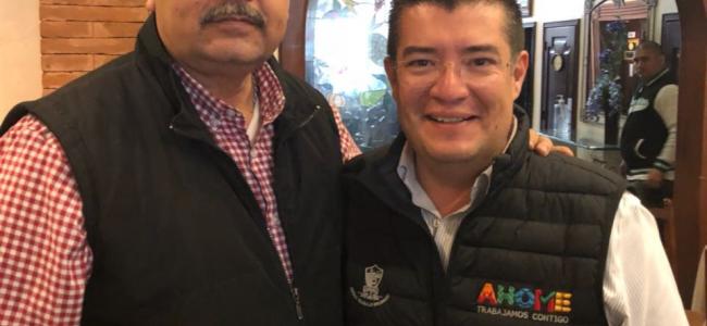 Coordinador de Suterm apoya reelección de Álvaro Ruelas